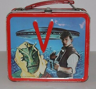 Vintage Metal Lunchbox 1984 V