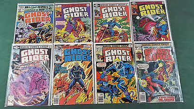 Ghost Rider Lot of 8 Bronze Age 1973 #26 29 34 44 45 46 47 64 Affordable!!