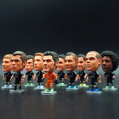 """Soccer Real Madrid Fc Player (Black Away) 2.5"""" Action Doll Toy Figure 2014-2015"""