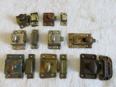 Door latches, locks, brackets- ANTIQUE