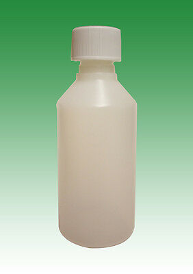 100ml HDPE bottles and child proof caps (20mm) (5x, 10x, 25x, 50x or 100x)