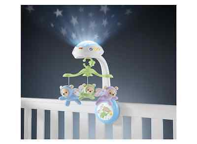 Fisher-Price Butterfly Dreams Light Show Projection Musical Baby Crib Mobile