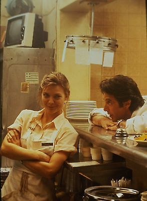 "MICHELLE PFEIFFER & AL PACINO in ""Frankie and Johnny"" - Orig. 35mm COLOR Slide"