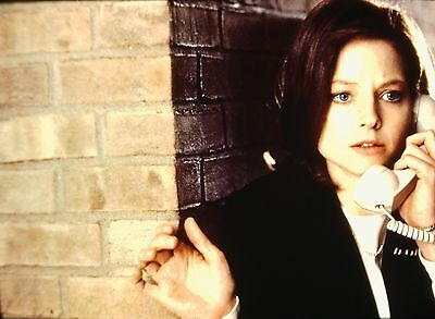 "JODIE FOSTER in ""Silence of the Lambs"" - Original 35mm COLOR Slide - 1991"