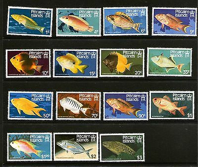 Pitcairn Islands 1984 Fishes Set 15