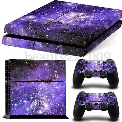 Skin Sticker Cover For PS4 Playstation 4 Console + Controller Vinyl Decal#224