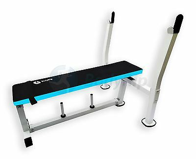 BodyRip Flat Weight Bench Weight Lifting Utility Chest Press Dumbbell Training