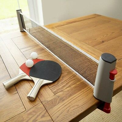 Instant Table Tennis Great Travel Game Extendable Net