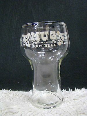 """Mug Old Fashioned Root Beer Logoed 6"""" Soda Fountain Drinking Glass, Collectible"""