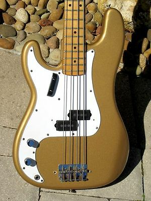 "1968 Fender Precision Bass ""Left Handed"" w/Maple Cap neck !"