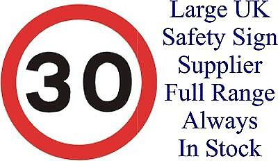 30 MPH Speed Limit Sign - Health & Safety Signs High Quality Interior & Exterior