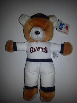 San Francisco Giants MLB teddy bear mascot NWT baseball :-)