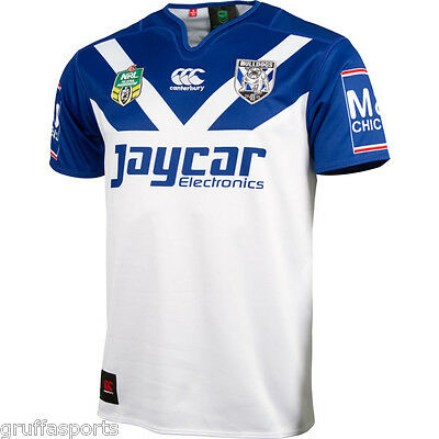Canterbury Bulldogs 2016 Home Jersey Adults S - 5XL & Kids Sizes NRL CCC SALE!!