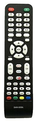 New USBRMT Universal Replacement SANYO remote SAN-928 for SANYO LCD LED Smart TV