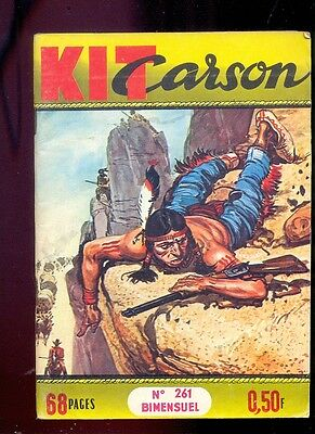 Kit Carson n°261 Editions Impéria, 1967 / Western / Cow Boys / Indiens