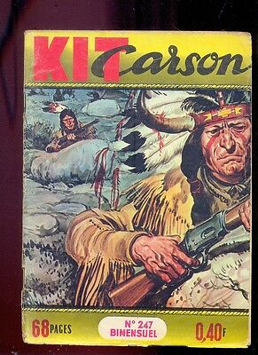 Kit Carson n°247 Editions Impéria, 1966/ Western / Cow Boys / Indiens