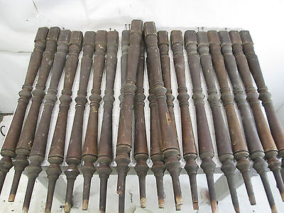 20 Antique Staircase Salvaged Spindles for Projects