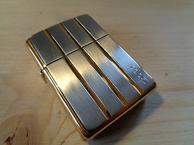 Zippo Lighter Gold Silver Tyson Vintage Year 1995 26380 New
