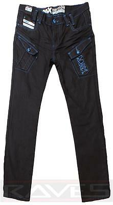 Boys Max Edition Coated Denim Designer Fashionable Kids Jeans Trousers Cutler