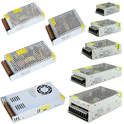 AC 110V-220V To DC 12V/24V/5V 2A/5A/10A/30A/50A/60A Switch Power Supply Adapter