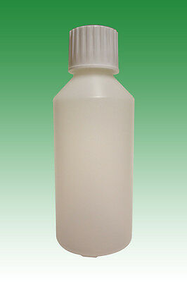250ml HDPE bottles and child proof caps (28mm) (5x, 10x, 25x, 50x or 100x)