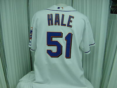 6e7db8f23 Official New York Mets Team Issued 2011 Home Game Worn  51 Chip Hale Jersey
