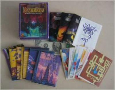 MENZOBERRANZAN  MINI Boxed Set by 21 Century Game  AD&D TSR 1083