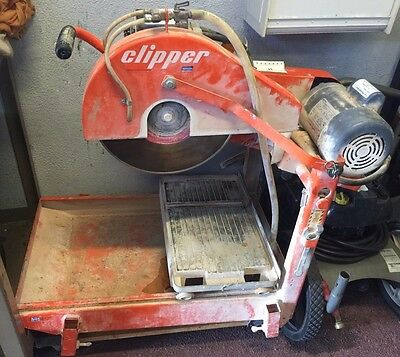 Norton Clipper Blockbuster Electric Saw 14""