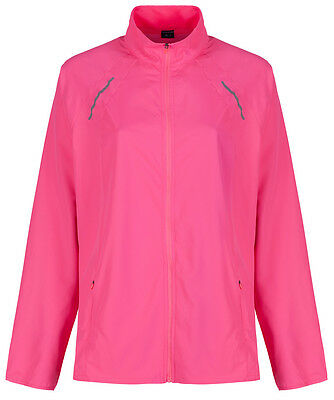 Marks & Spencer Womens Running Jacket Active Panelled M&S Zipped Gym Jogging Top