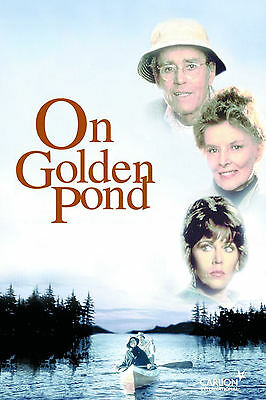 A3 - ON GOLDEN POND MOVIE Film Cinema wall Home Posters Print Art #21