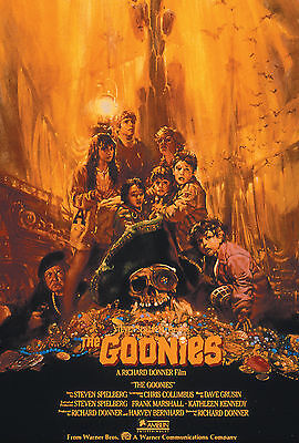 A3 - THE GOONIES MOVIE Film Cinema wall Home Posters Print Art #21