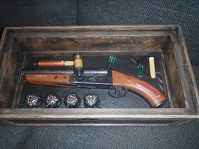 Extremely Rare! Blade Lifesize Whistler's Shotgun Vampire Killing Set Movie Prop