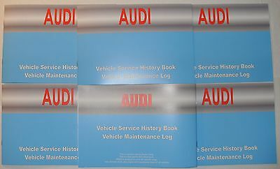 Generic Service History Book Suitable For Audi A1, A2, A3, A4, A5, A6, A7