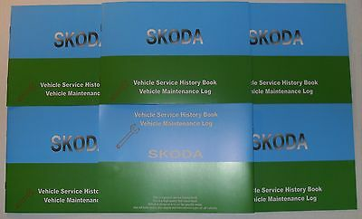 Generic Service History Book Suitable For Skoda Felicia Octavia Fabia