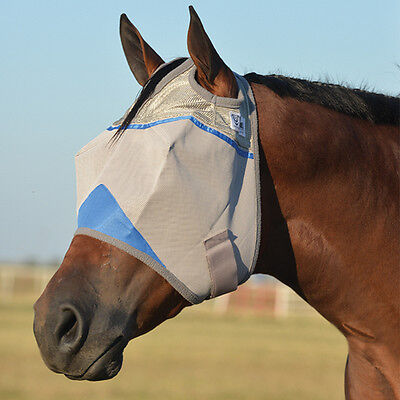 SALE Cashel Fly Mask Yearling Size NWT Blue