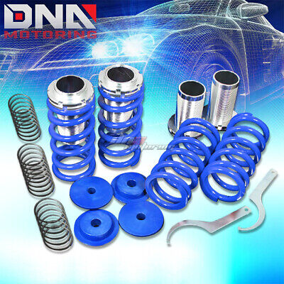 "For 94-99 Toyota Celica T200 0-3""scaled Suspension Black Coilover Blue Springs"