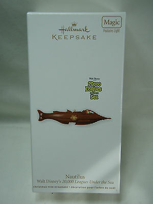 2011 Hallmark Keepsake Ornament Nautilus 20000 Leagues Under The Sea
