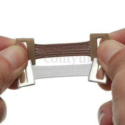 10x Spare Elastic Bandage Wrap Stretch Metal Clips Fixation Clamps Hooks Buckles