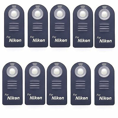 10pcs Wireless IR Infrared Shutter Remote Control for Nikon ML-L3 D3300 D5300