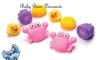 NEW Playgro Bathtime Squirtees - Pink from Baby Barn Discounts