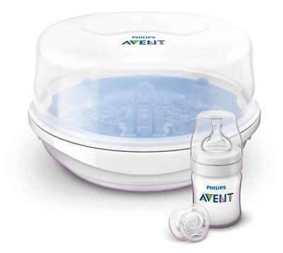 AVENT - Microwave Steam Steriliser - The Convenient Clean for Bottles, Breast...