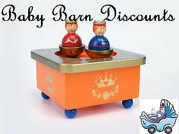 NEW Eleganter - Wooden Kingdom Music Box from Baby Barn Discounts