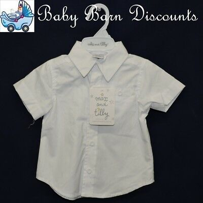 Max and Tilly - Short Sleeve Shirt - Size 3 x 0's