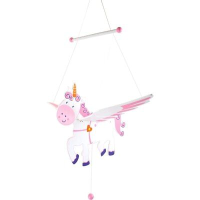 NEW Wooden Flying Unicorn Mobile from Baby Barn Discounts