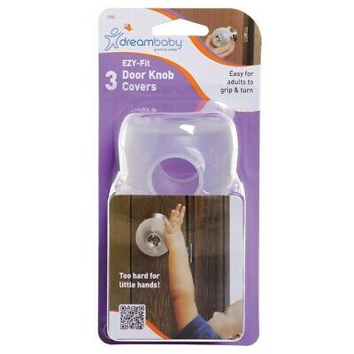NEW Dreambaby - EZY-Fit Door Knob Cover 3 Pk from Baby Barn Discounts