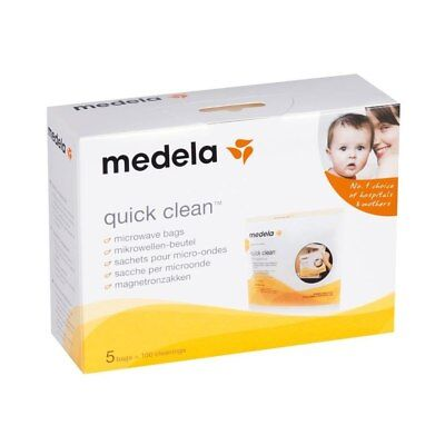 NEW Medela - Quick Clean Sterilisation Microwave Bags from Baby Barn Discounts