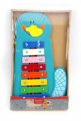 NEW Eleganter - Wooden Platypus Xylophone from Baby Barn Discounts