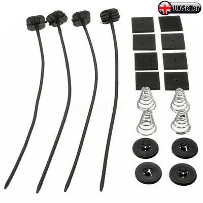 New Radiator Fan Low Profile Universal Fitting Fixing Kit Clips Ties Support