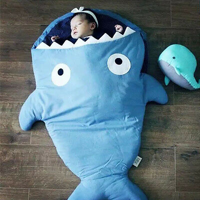1 PC shark design newborn baby blanket cotton design high quality cotton covers