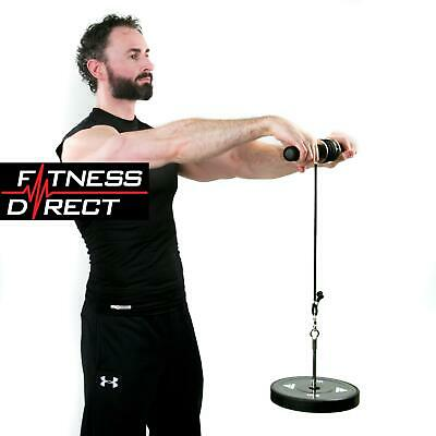 Fitness Direct Wrist Curl Forearm Exerciser Trainer